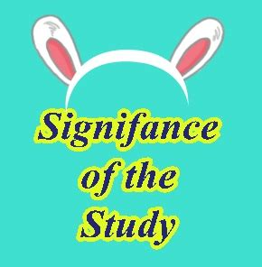 Significance of the study architecture thesis proposal titles